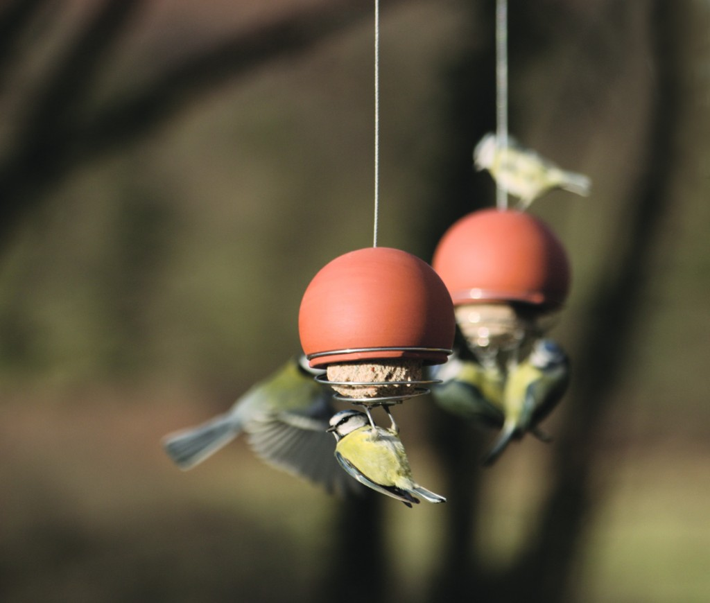 Green&Blue Bird Feeders