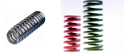 Compression springs vs die springs