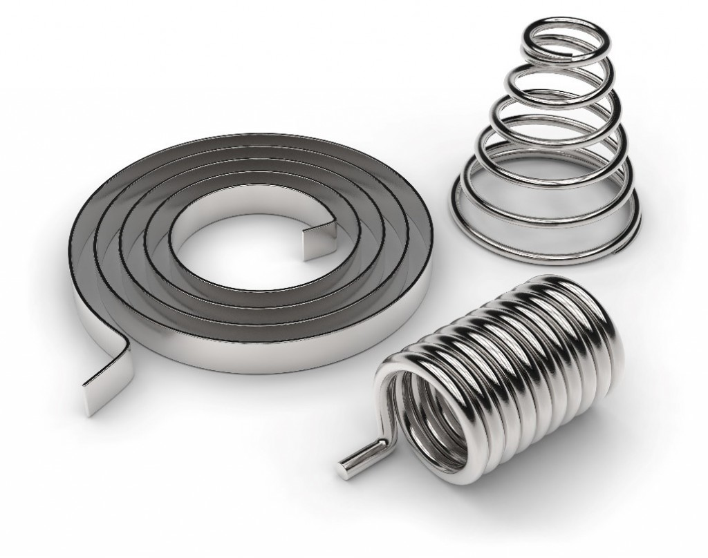 Various types of custom spring
