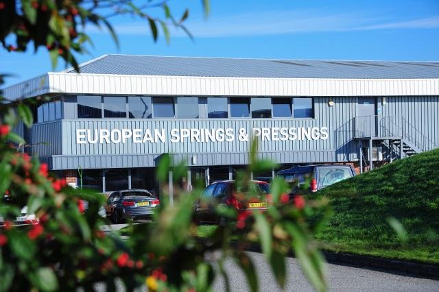 European Springs and Pressings Cornwall Site
