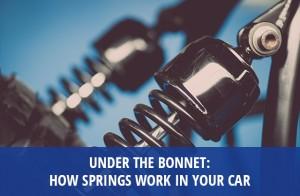 Under The Bonnet How Springs Work in Your Car | European Springs Blog