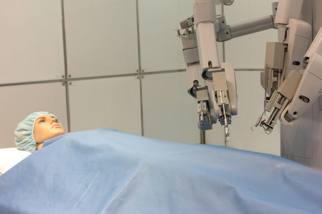 Experimental robotic surgery
