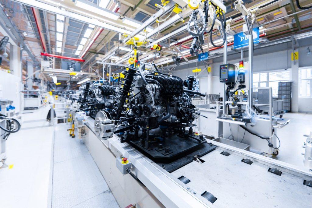 Automotive manufacturing process