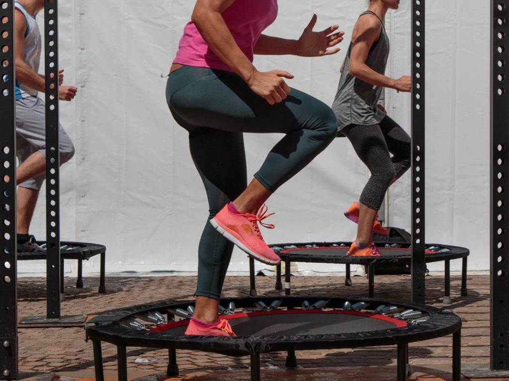 springs trampolines rebound and bounce